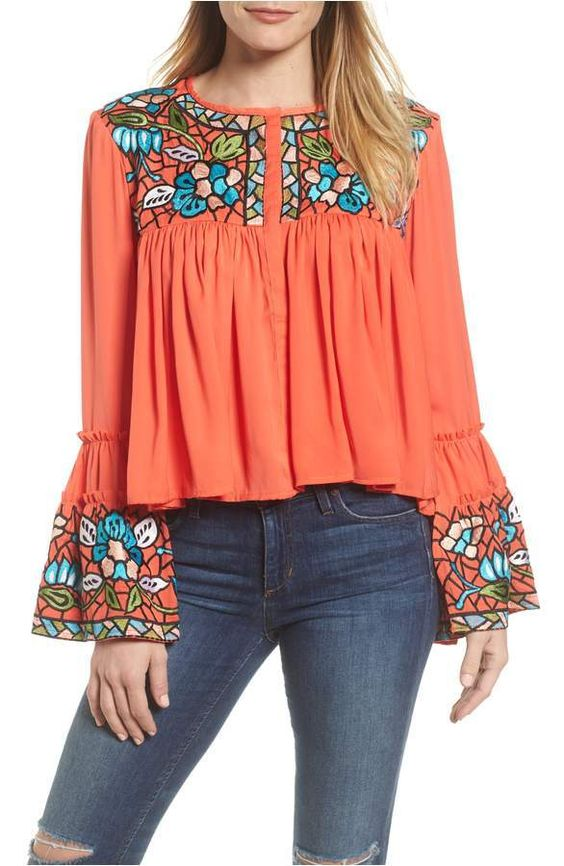 Awesome Embroidered Tunics