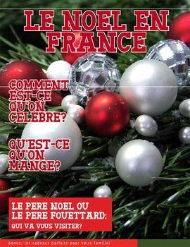 26 page magazine about the Christmas season in France. Includes worksheets and activities.