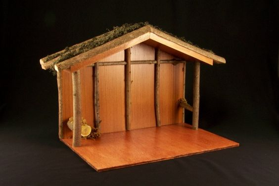how to build a stable for nativity scene