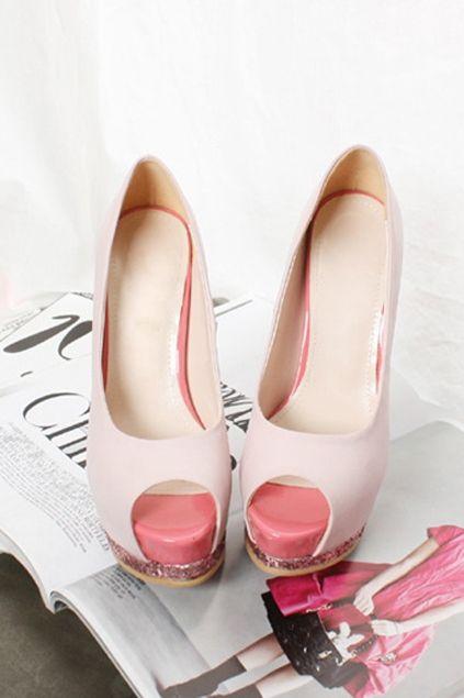 \\\ shiny heels \\\