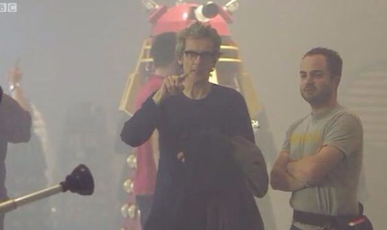 Peter Capaldi takes a fan's view of all the Daleks assembled for The Witch's Familiar.