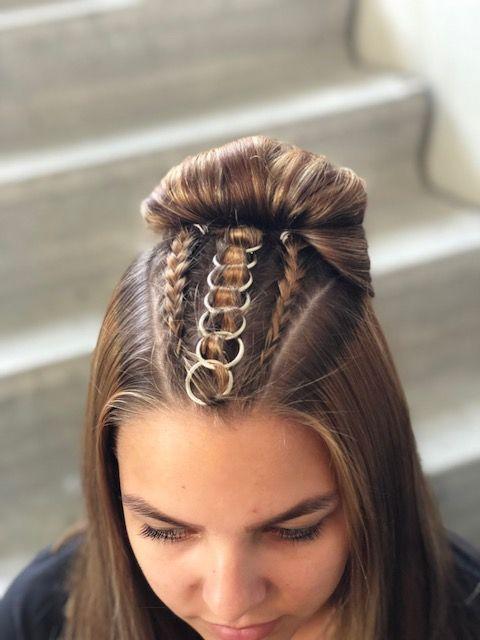 haar ringen ring hairstyle
