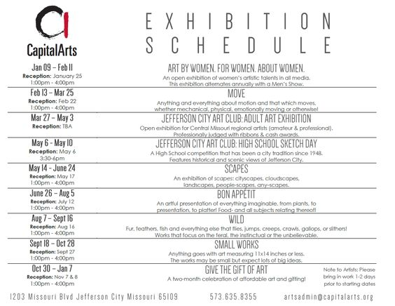 Capital Arts Exhibition -- By women, for women, about women!!