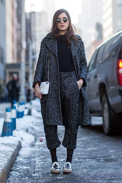 Proof The Olivia Pope Coat Works For Everyone #refinery29  http://www.refinery29.com/olivia-pope-coat#slide-12  Though tweed-on-tweed might seem like a old man move, it looks surprisingly fresh when worn with fun accessories....
