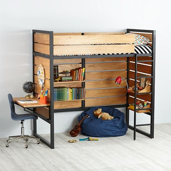 Tall Order Kids Loft Bed The Land Of Nod Too High For