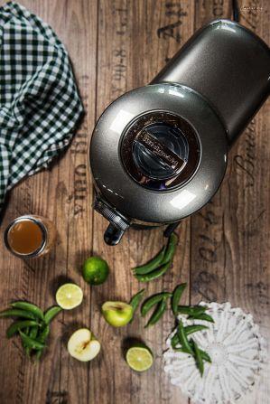 Rezept grüner Smoothie, Powersmoothie, green smoothie, healthy green smoothie, Smoothie grün, Smoothie gesund