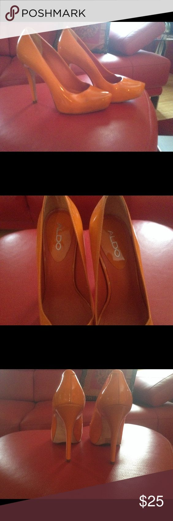 Aldo heels size 6 never worn Cleaning out my closet Aldo Shoes Heels