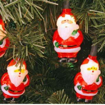 Laat die arme kerstman niet buiten in de kou staan maar haal hem gezellig binnen!