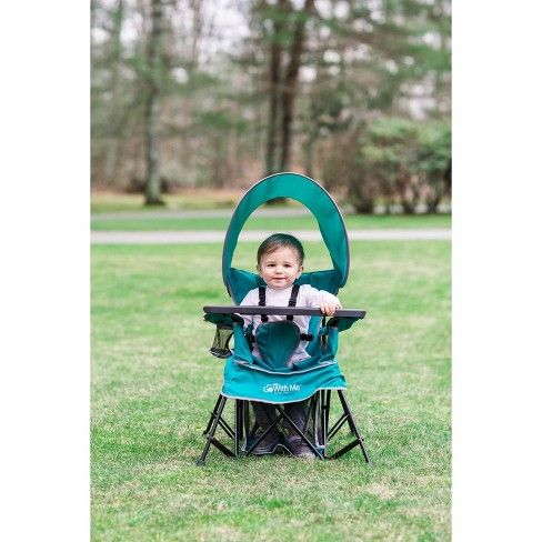 Baby Delight Go With Me Venture Deluxe Portable High Chair Teal