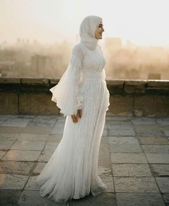 Hijab Hijab Fashion Hijab Dress S Simple Wedding Dress With Hijab Pin Gehadgee Engagement Dress For Girl Engagement Dress For Bride Wedding Dress Factory