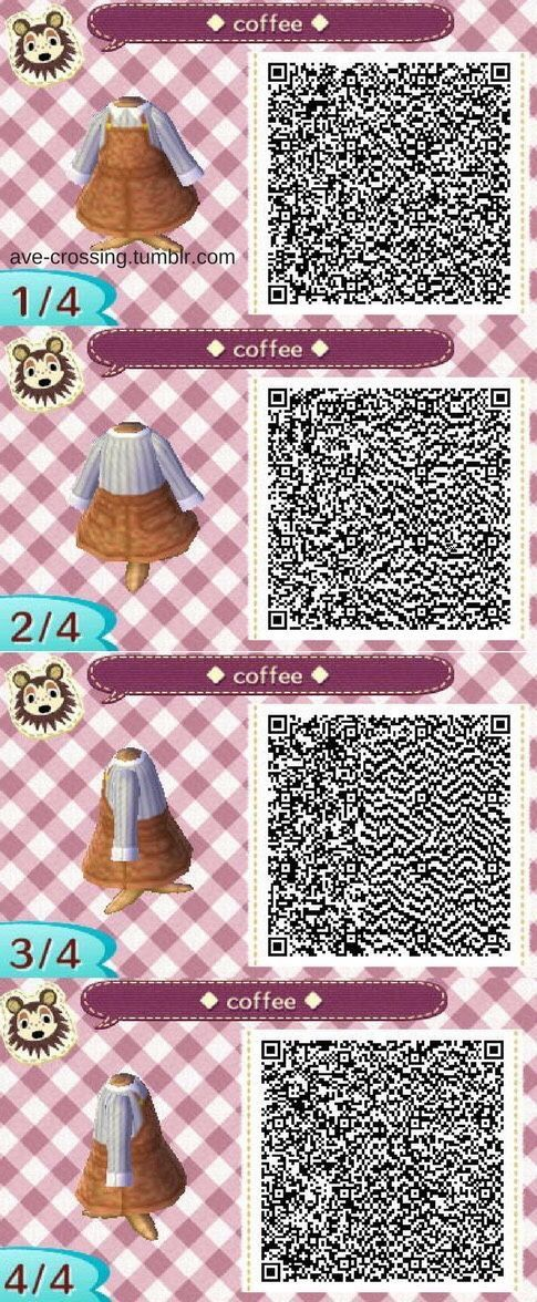 animal crossing qr codes new horizons clothes