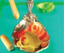 Rezept Zucchini süß-sauer von Thermomix Rezeptentwicklung - Rezept der Kategorie Vorspeisen/Salate