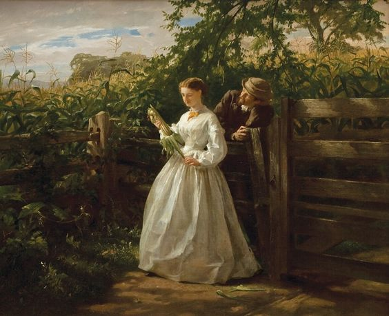 George Cochran Lambdin | ... художник George Cochran Lambdin (1830-1896