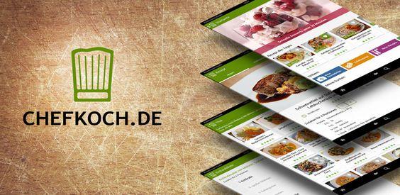 Rezepte finden mit der Chefkoch App - kostenloser Download im Amazon Store.