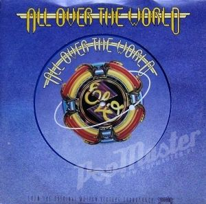 """Electric Light Orchestra All Over The World 10"""" Blue Vinyl  JET 10-195"""
