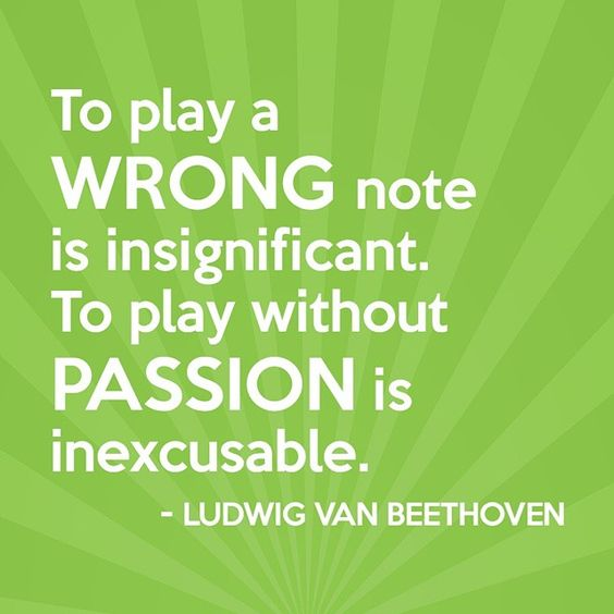 The time is never too late to pursue a passion. #takebackmonday ... #instaquote #inspirationalquotes #beethoven #liveyourdreams #love #passion