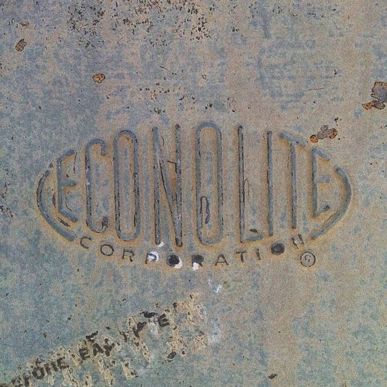 A nice little badge from the Econolite Corporation.
