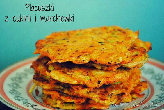 BasJulowe pasje czyli Basia i Julka w kuchni: Placuszki cukiniowo-marchewkowe