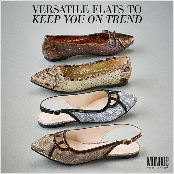 Flats, Loafers, & Booties. . .oh my!  If you are looking for women's oxfords, ballet flats, or just a comfortable pair of everyday shoes, we have plenty of options to keep you and your feet happy here at Monroe and Main. Brand Names & Wide Widths too!