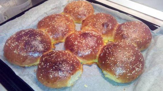 Hamburger Buns! 5.00 stars, 2 reviews. @allthecooks #recipe #bread #buns #hamburger #rolls #burger