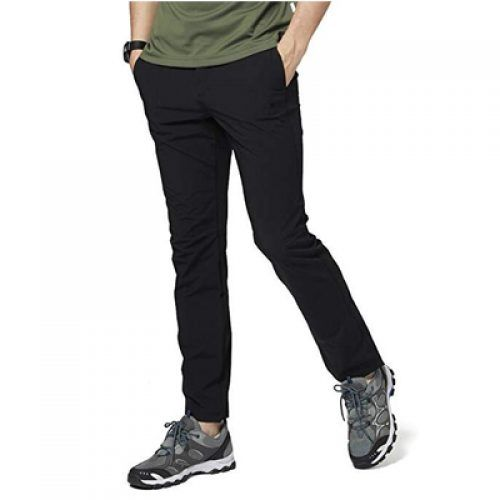 CAMEL Mens Hiking Pants Travel Sweatpants Quick-Dry Lightweight Pants Breathable Camping Sweatpants Summer