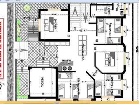 Small Hospital Plan Hospital Plans Hospital Design Architecture Hospital Architecture