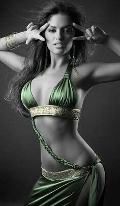 Green splash color