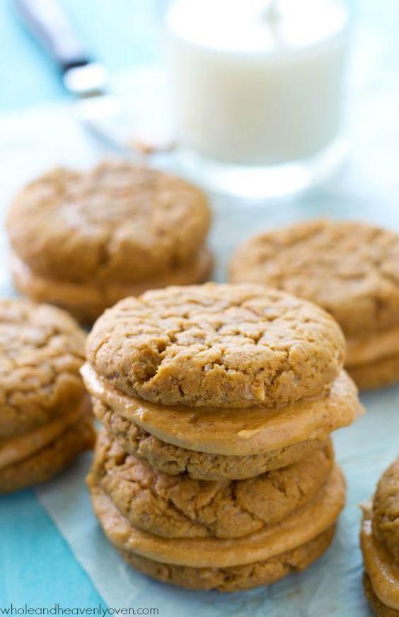 Peanut Butter Sandwich Cookies   Recipe   Butter, Sandwich cookies ...