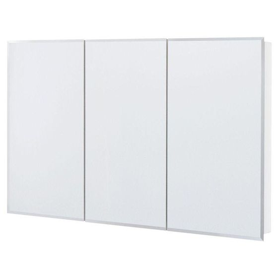 Glacier Bay 48 in. x 30 in. Surface Mount Mirrored Medicine Cabinet-T48