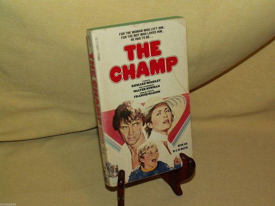 CHAMP BY RICHARD WOODLEY DELL PB 11595 1ST PRINT MAR 1979 JON VOIGHT SCHRODER