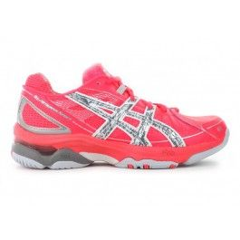 ASICS Womens Netburner Super 4 - HOT PINK.