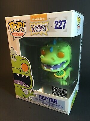 FYE Exclusive Funko Pop Animation Rugrats Reptar with Cereal