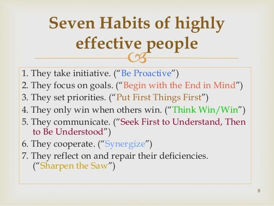 Book Review of Seven Habits of Highly Effective People