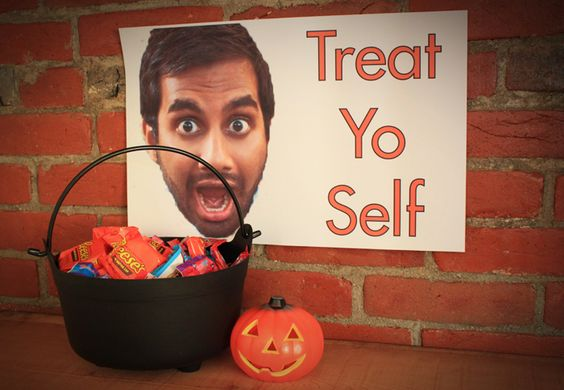 Parks and Rec Halloween