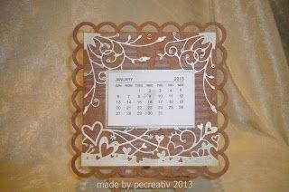 pecreativ: Kleine Kalender....