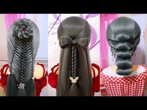 Youtube Penteados Com Tranca Penteados Penteados Lindos