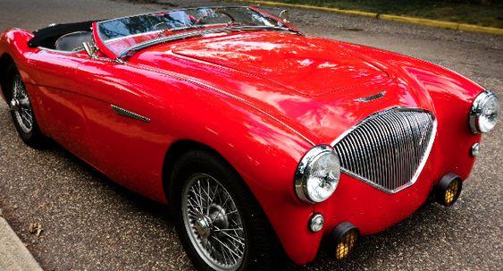1956 Austin Healey 100-Four