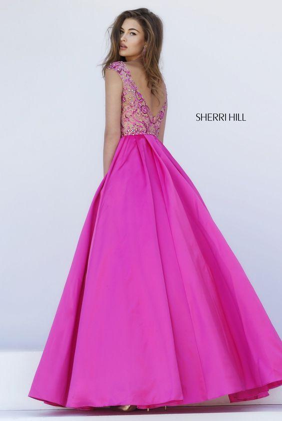Pin de Cecilia en Sherri Hill | Pinterest | Vestiditos, Vestidos de ...
