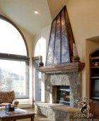Copper and Steel Fireplace Hood   Камины   Pinterest   Hoods ...