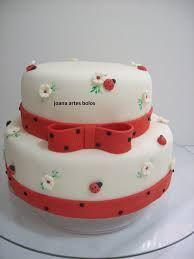 Resultado de imagem para bolo joaninha