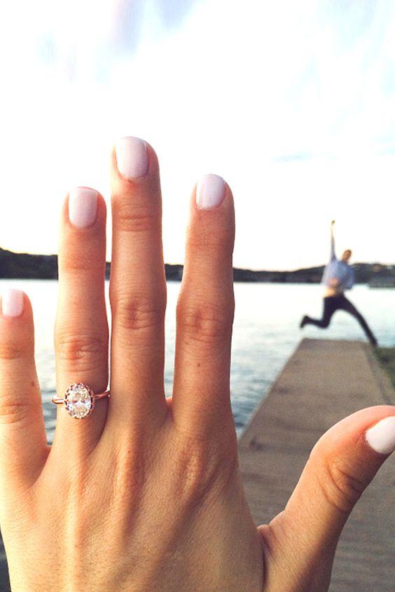 18 Best Ideas Of Engagement Announcements ❤ See more: http://www.weddingforward.com/engagement-announcements/ #weddings #photos