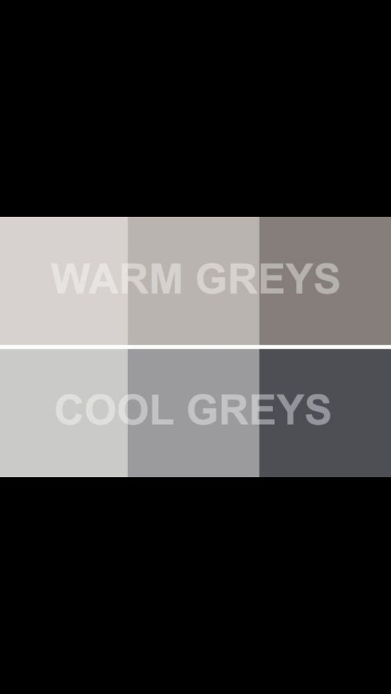 Warm Grays Cool Grays For The Home Interior Colors