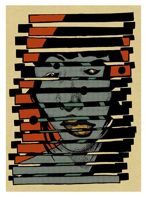 'Akemi' // Giclee print.