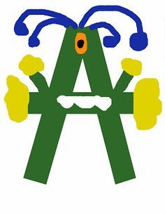 Letter A Crafts for Preschool - Preschool Crafts
