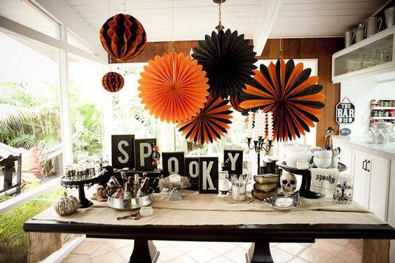 spooky table