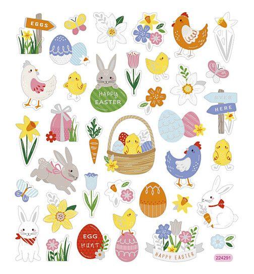 Personalised Sticker de Pâques Cadeau Oeuf de Pâques