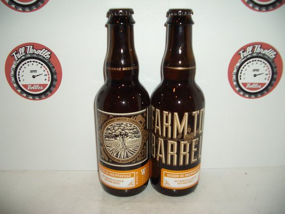 @AlmanacBeer Saison de Brettaville is the latest sour to hit our shelves. Aged in white wine barrels this is GREAT!