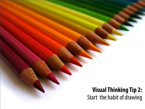Visual Thinking Tip 2: Start