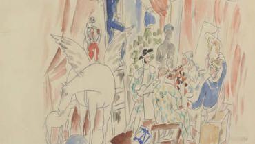 Picasso and Dance - Exhibitions - Visits - Opéra national de Paris