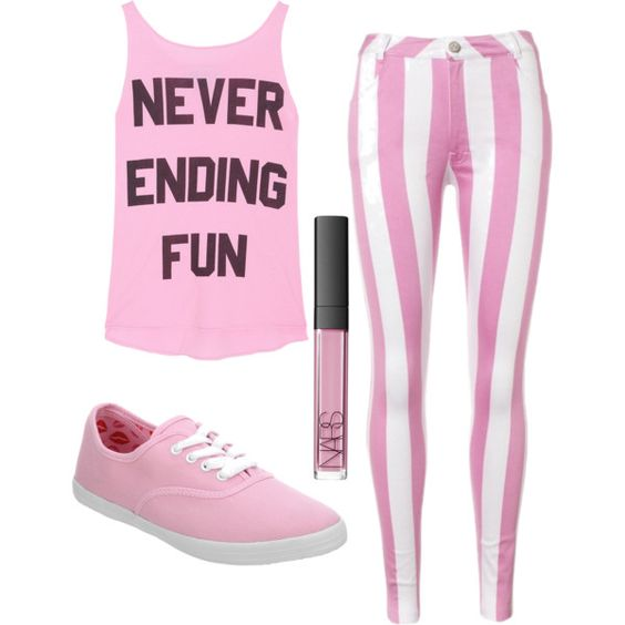 A fashion look from December 2012 featuring Wildfox tops, Lipsy jeans and Office sneakers. Browse and shop related looks.